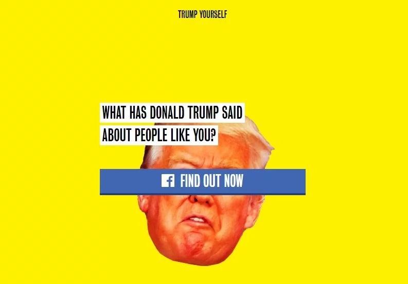 Ahora todos pueden recibir insultos de Donald Trump