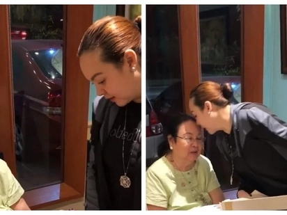 Hindi pangkaraniwang regalo! Claudine Barretto gets emotional after receiving a special gift from her mother