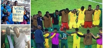 Heartwarming 1:0! Zambia and South Africa players PRAY TOGETHER after football match (photos, video)