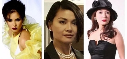 Kontrabida moms in the Philippine television through the years. These were the prominent character mother roles that you'll love to hate.