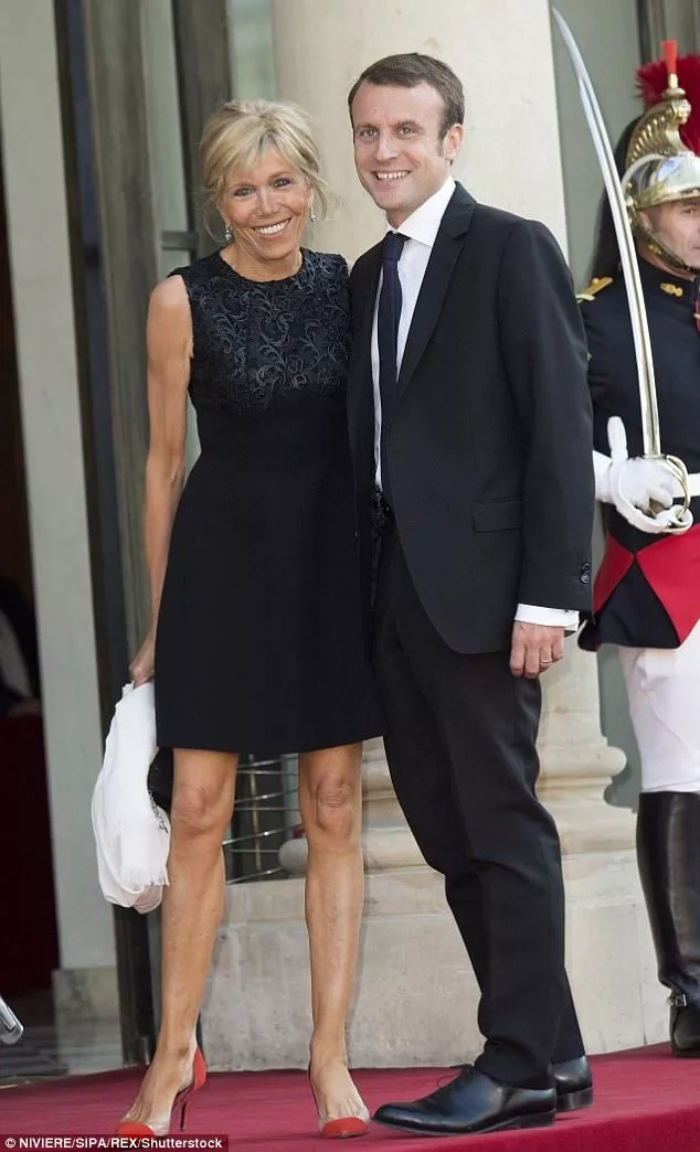 Meet 64-year-old wife of newly elected French President who is 24 years his senior