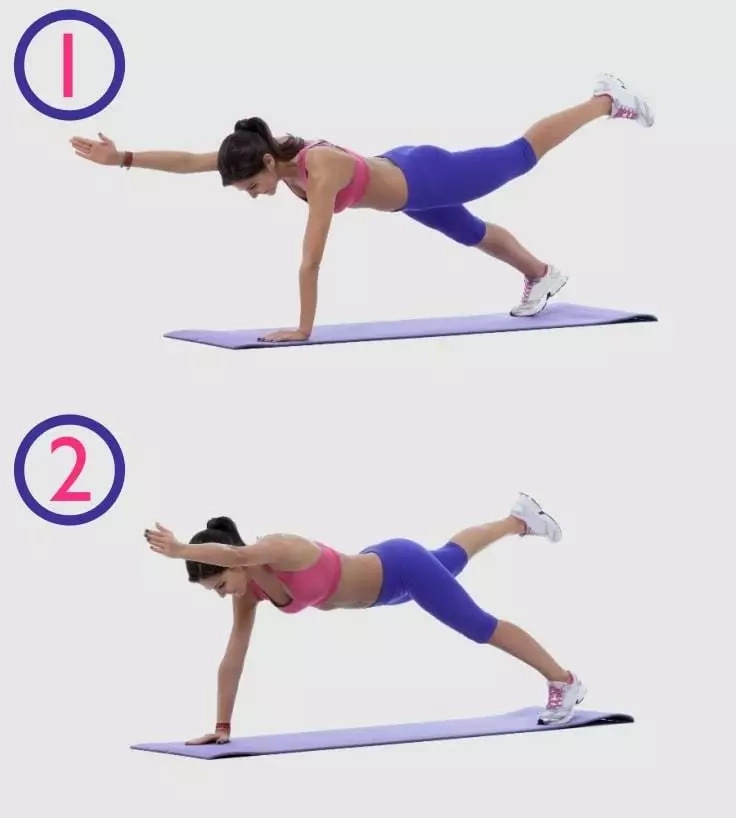 Perfect 6 Minutes Abs Workout With Gif Tutorials