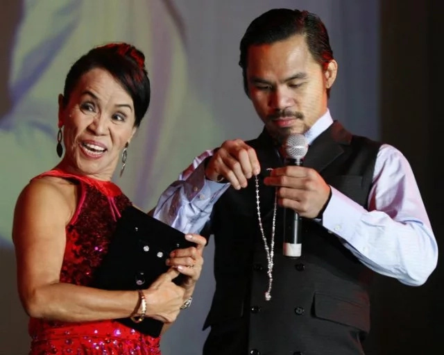 'Deserve ng Mama ko 'yon!' Manny Pacquiao gives Mommy Dionisia a brand new van for her 69th birthday