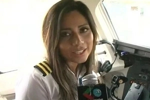 Beautiful Co-pilot Killed In Colombian Plane Crash Had Her First Flight!