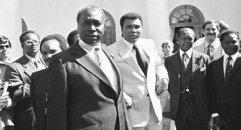 Photo, Video: Muhammad Ali's visit to State House, Nairobi