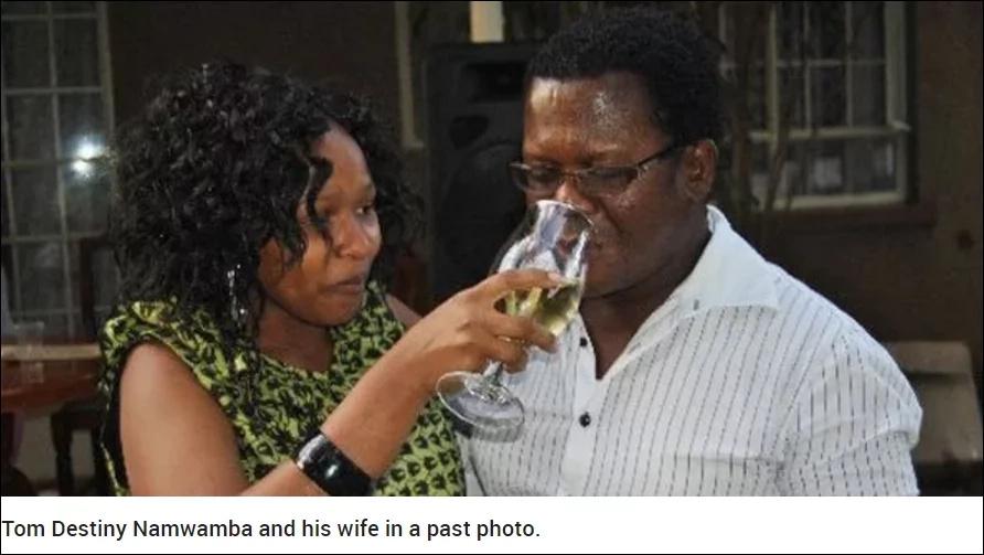 """Huyu ndiye mwanamume """"anayempotosha"""" Namwamba?"""