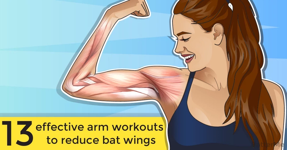 13 effective arm workouts to reduce bat wings