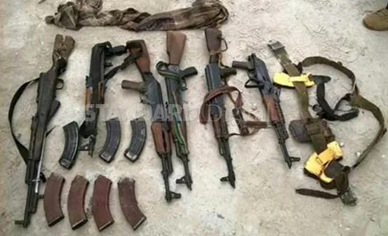 Deadly al-Shabaab weapons recovered in Mandera