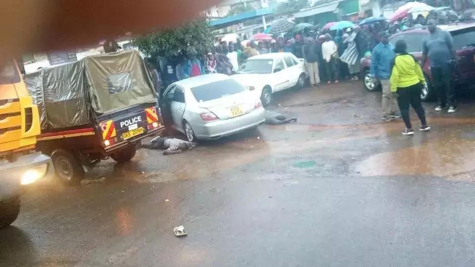 Video ya walioiba kwenye M-Pesa kwa BUNDUKI Uthiri imewafichua wezi