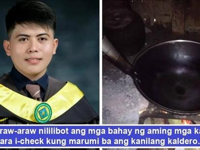 Salamat sa maruruming kaldero! Sultan Kudarat student natustusan pag-aaral, nakagradweyt dahil sa paglinis ng kawali't kaldero
