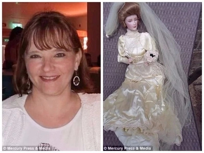 Woman, 50, claims doll she bought in Chinese shop has been tormenting her family since its arrival