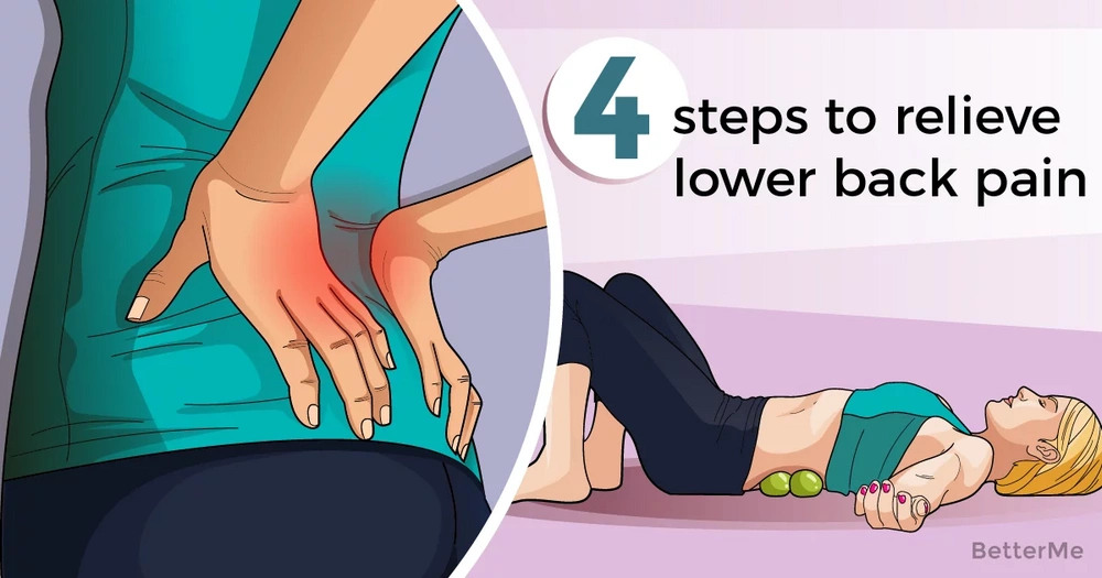 4 steps that can help you relieve lower back pain