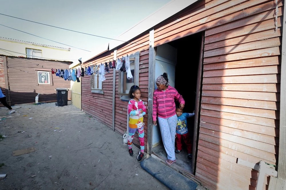They live under difficult conditions. Photo: Henk Kruger/ANA Pictures