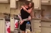 Watch: Mom caught husband and daughter sharing a cute dance!