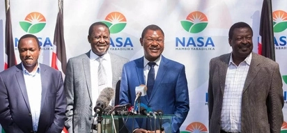 NASA Principal Wetang'ula condemns harassment of opposition leaders and Twitter erupts