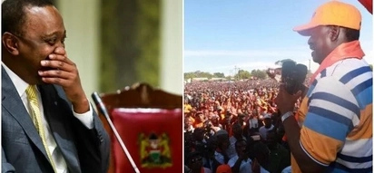 Uhuru meets powerful ODM governor as Raila hosted major Tononoka rally