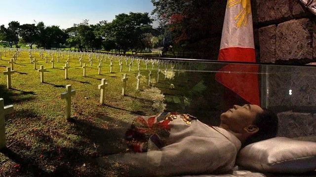 Duterte gives go signal to Marcos' burial in Heroes' Cemetery
