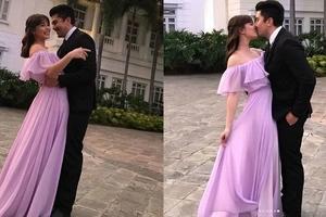 Head over heels Jessy Mendiola shares sweet lip smack photo with boyfriend Luis Manzano