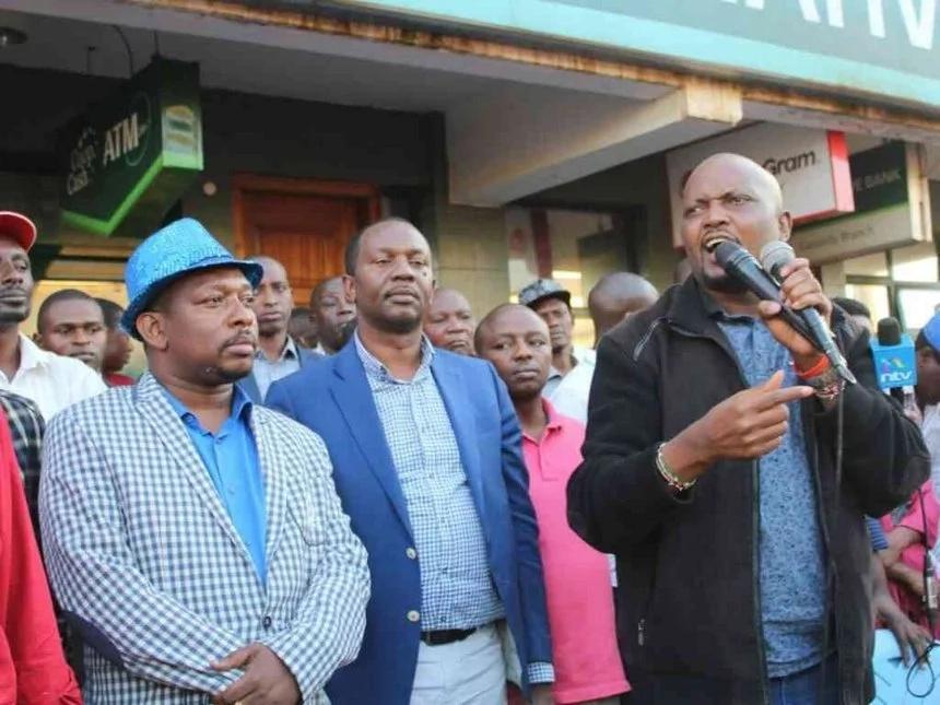 Peter Kenneth responds to Sonko's Ksh 1 billion bribery claim