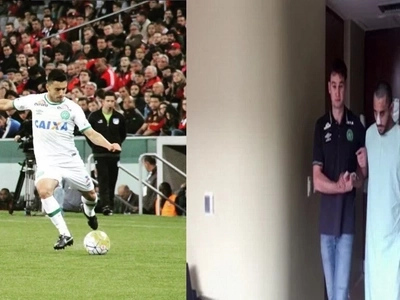 El video donde uno de los jugadores que sobrevivió a la tragedia del Chape camina