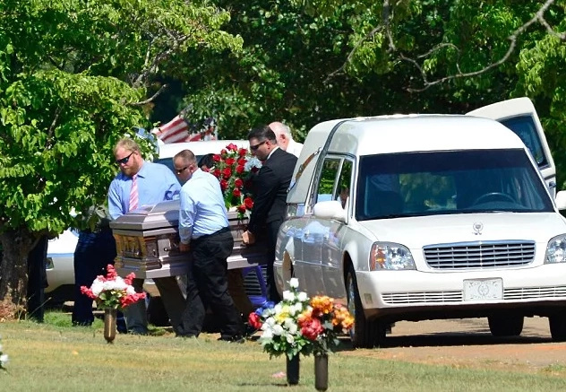 Father attends his daughters' funeral after his wife killed them