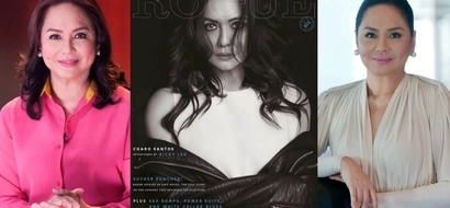 Dear ate Charo! ABS-CBN executive Charo Santos-Concio looks hot in Rogue magazine cover