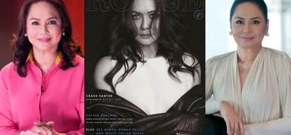 Dear ate Charo! ABS-CBN executive Charo Santos-Concio looks hot in Rogue magazine cover