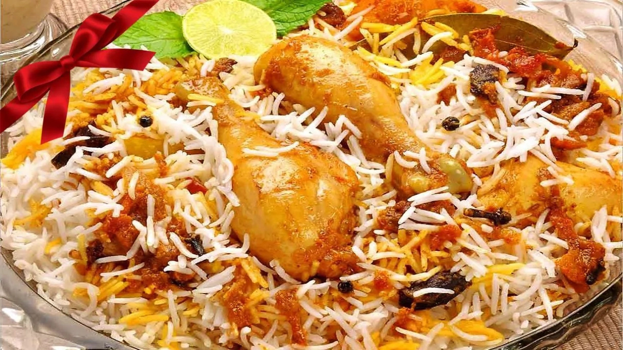 How to cook biryani rice with chicken for Chicken biryani at home