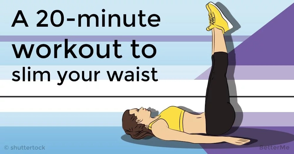 A 20-minute workout to slim your waist