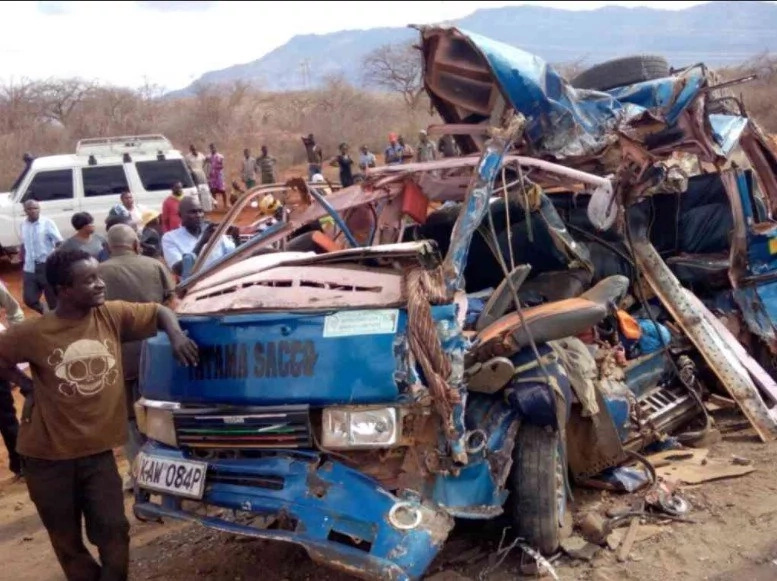 7 perish in a terrible Maungu accident (Photo)
