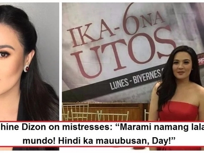 Di keri ang mga kabit?! Sunshine Dizon admits feeling no sympathy for mistresses or 'the other women'