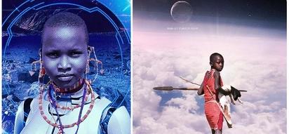 Meet the first Kenyan artist to take Maasai people to space