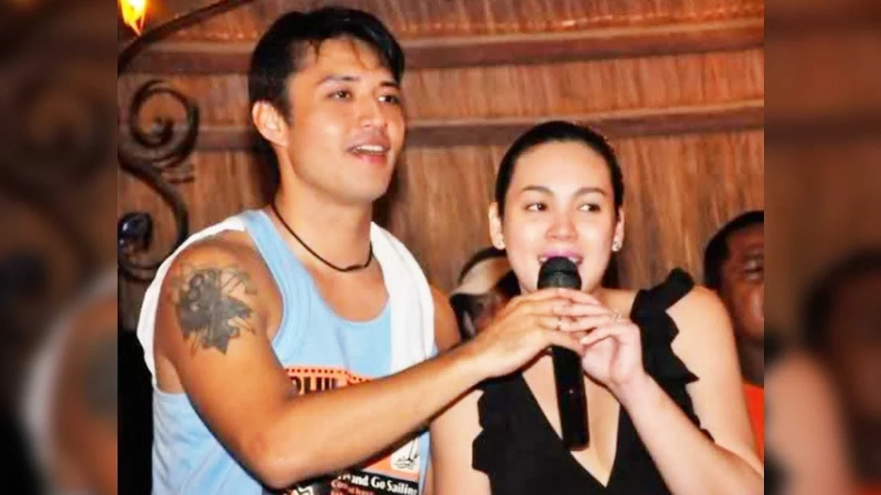 Claudine Barretto and Mark Anthony Fernandoz meet bosses of Viva