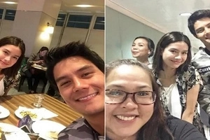 Parang walang nangyari! New Photos of Erich Gonzales and Daniel Matsunaga looking happy together at airport go viral