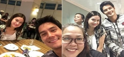 Parang walang nangyari! New Photos of Erich Gonzales and Daniel Matsunaga looking happy together at airport go viral