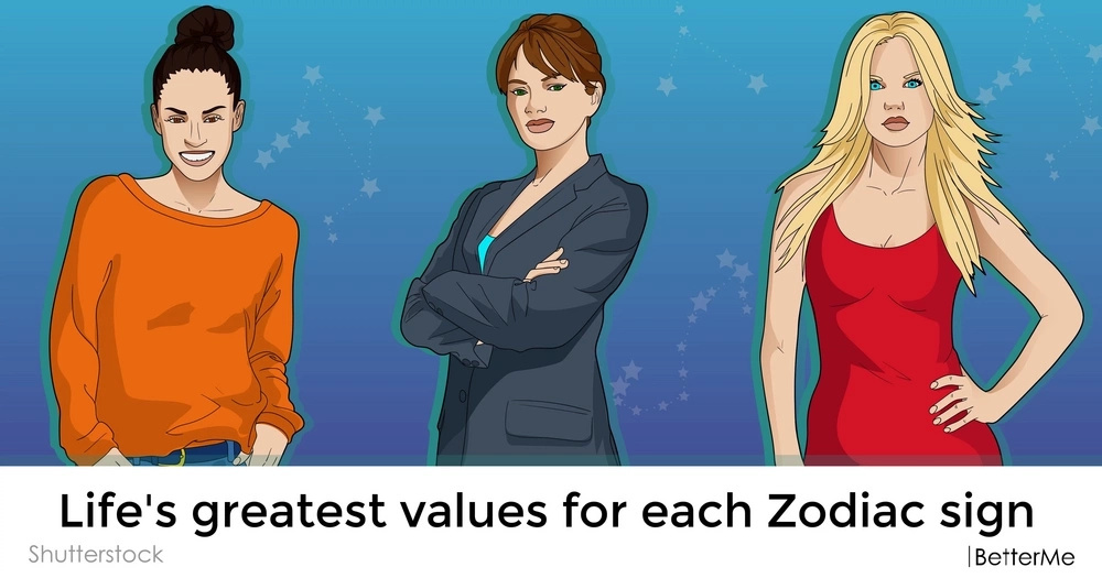 Life's greatest values for each Zodiac sign