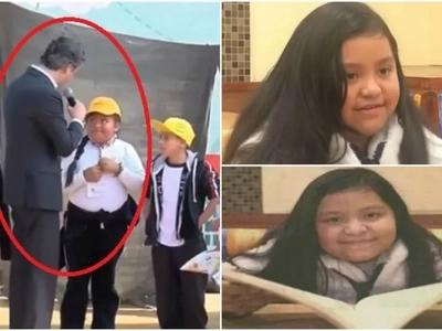La niña mexicana que corrigió al Secretario de Educación por no saber pronunciar