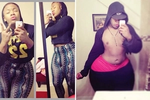 Do you remember this man with the widest HIPS? Well, he is now a woman (photos)