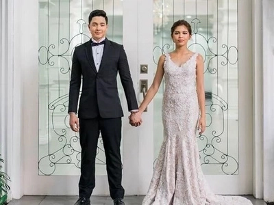 Kilig to the bones! Twitter explodes as netizens gush over much awaited AlDub wedding
