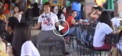 Pinoy Son Goku! Hilarious video of student's Dragon Ball Z university prank goes viral