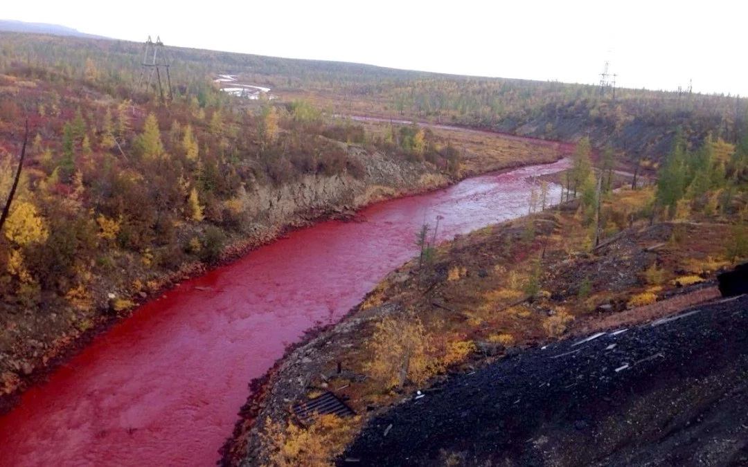 In Russia they got river of blood, like a sign of the end of time