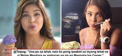 'Ganun po ba kababa pagtingin niyo sa amin?' Magnolia's rep takes to Twitter to defend brand from those questioning loyalty to endorser Maine Mendoza!