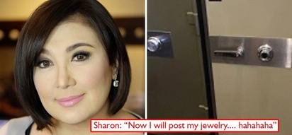 Kayamanan ko, pinapakita ko! Sharon Cuneta posts photo of vault on socmed and netizens find it tacky and so 'mayabang'