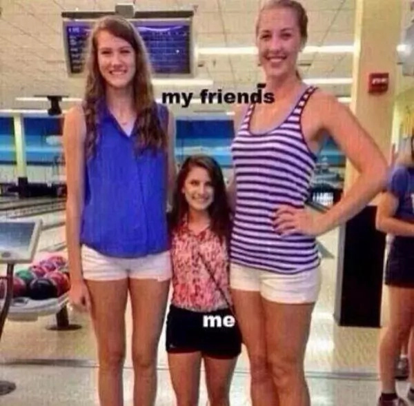 Struggles which short people face daily