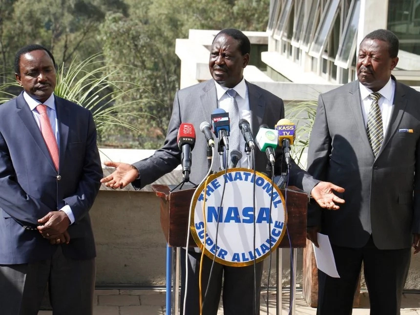 Why NASA financiers want Raila Odinga out of the PRESIDENTIAL race