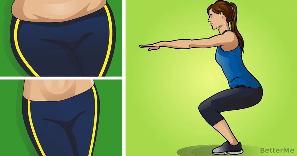 8 exercises to reduce thighs and hips