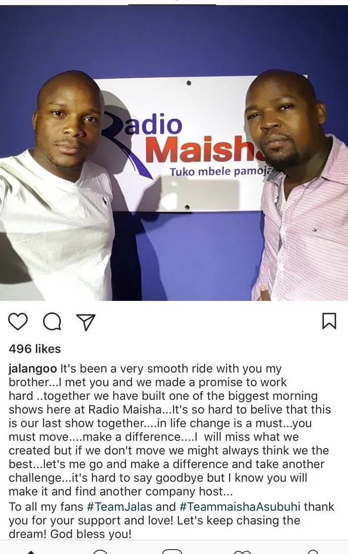 The major plan Royal Media Services allegedly has with Jeff Koinage and comedian Jalang'o