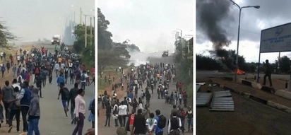 This is how another MASSIVE demo against Rongai matatus will go down