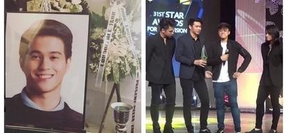 Maiiyak ka rin kasama nila! Hashtags members cried onstage while dedicating an award to their late friend Franco Hernandez
