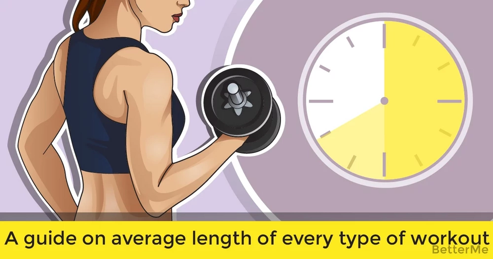 A guide on average length of every type of workout